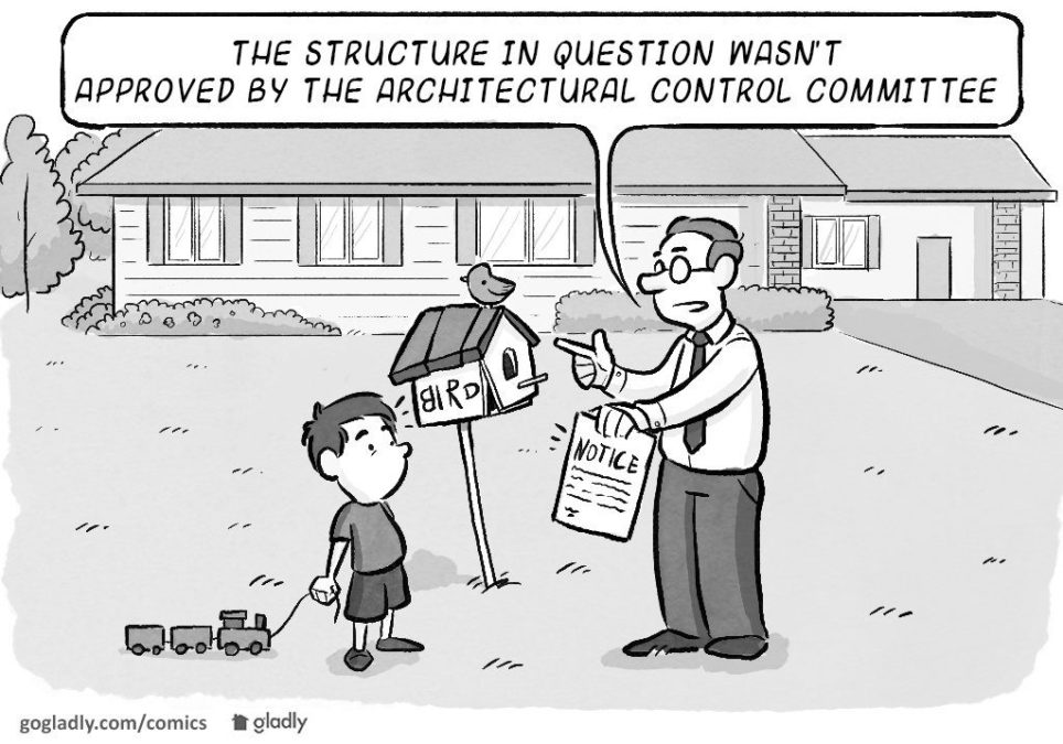 HOA Architectural Control Freaks
