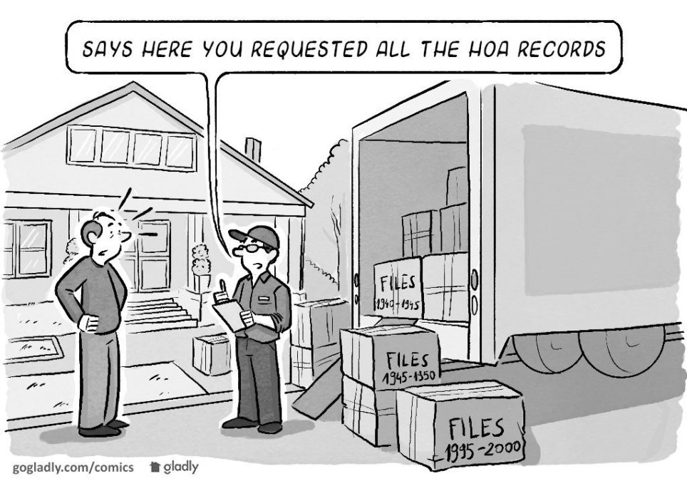 HOA Records — Save or Shred?