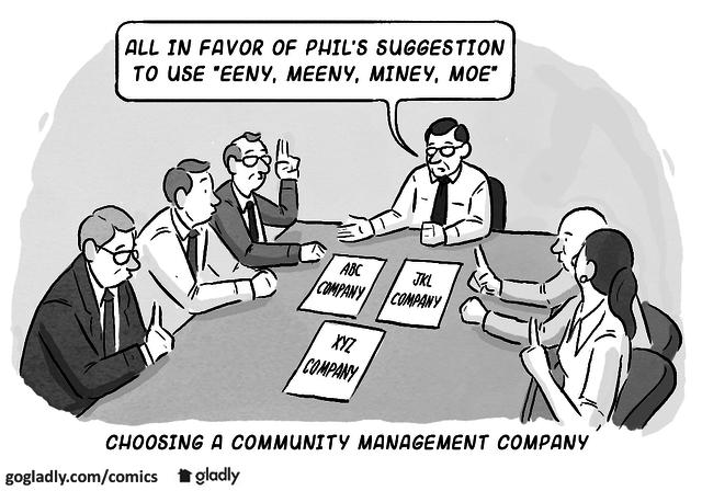 Choosing the Right HOA Management Company