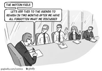 Avoiding HOA Meeting Déjà Vu