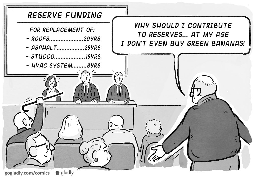 Funding Hoa Reserves For The Common Good Gladly