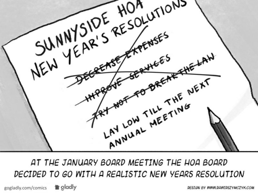 Out With the Old, In With the New: Resolutions for Your HOA