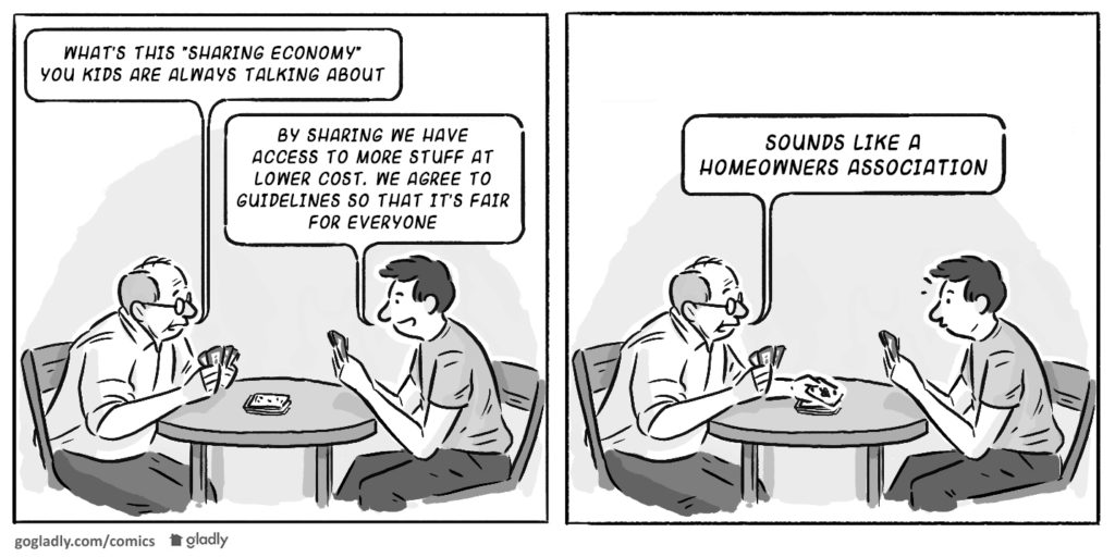 HOA Sharing Economy Comic