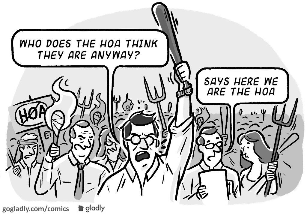 Understanding HOAs Comic