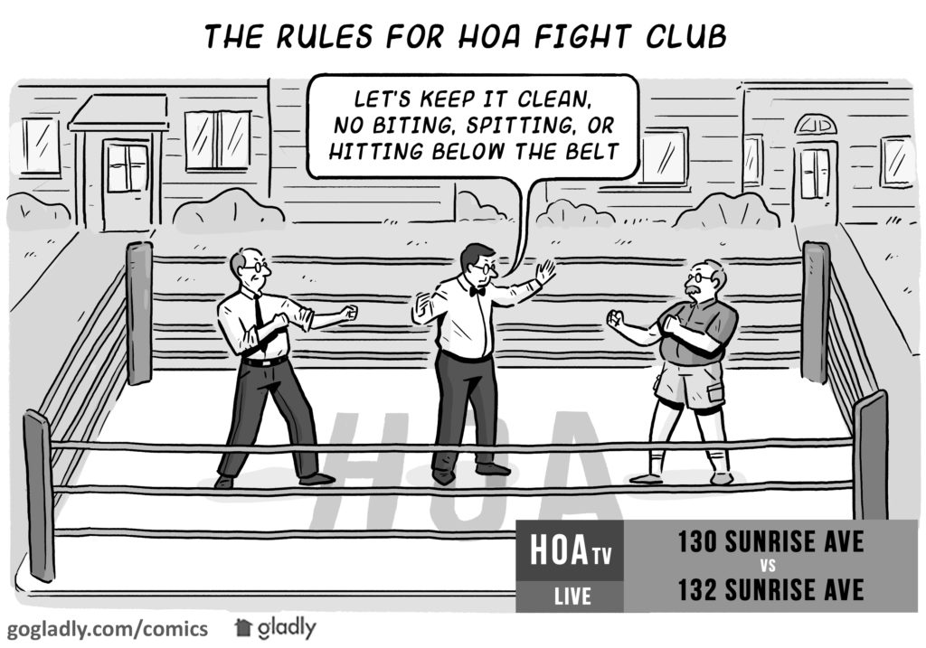Neighbor Dispute Comic